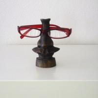 Bronzen brilhouder in stijl van Dali