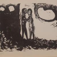 Gene Eggen, houtsnede uit 1967 (II)
