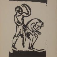 Gene Eggen, houtsnede uit 1968 (II)