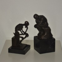 Memento Mori  De Denker/Rodin De Denker (Le Penseur)