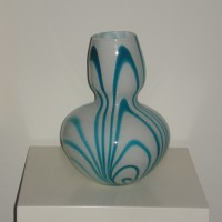 Vaas blauw, Carlo Moretti
