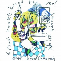Herman Brood nette vent